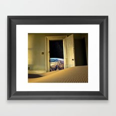 Ghost Town Framed Art Print