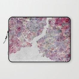 Istanbul Map Laptop Sleeve