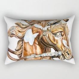 Apollo Rising Horse Rectangular Pillow