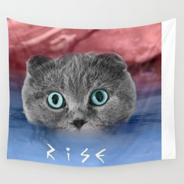 Scottis Fold Cat- Kitten Katy Wall Tapestry