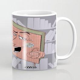 Smart Ass Library Book Coffee Mug