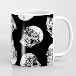 Skull Eyes Coffee Mug