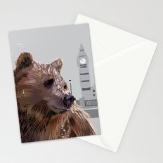 Cityscape Bear Stationery Cards