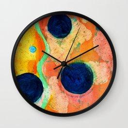 Spring Abstract Wall Clock