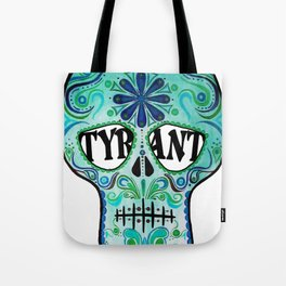"TYRANT ""Sugar Skull"" Tote Bag"