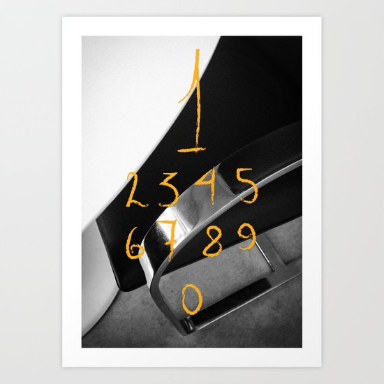 Counting… Art Print