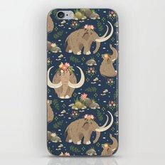 Cute mammoths iPhone & iPod Skin