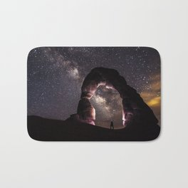 Watching stars Bath Mat