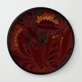 Rus Bunch Wall Clock