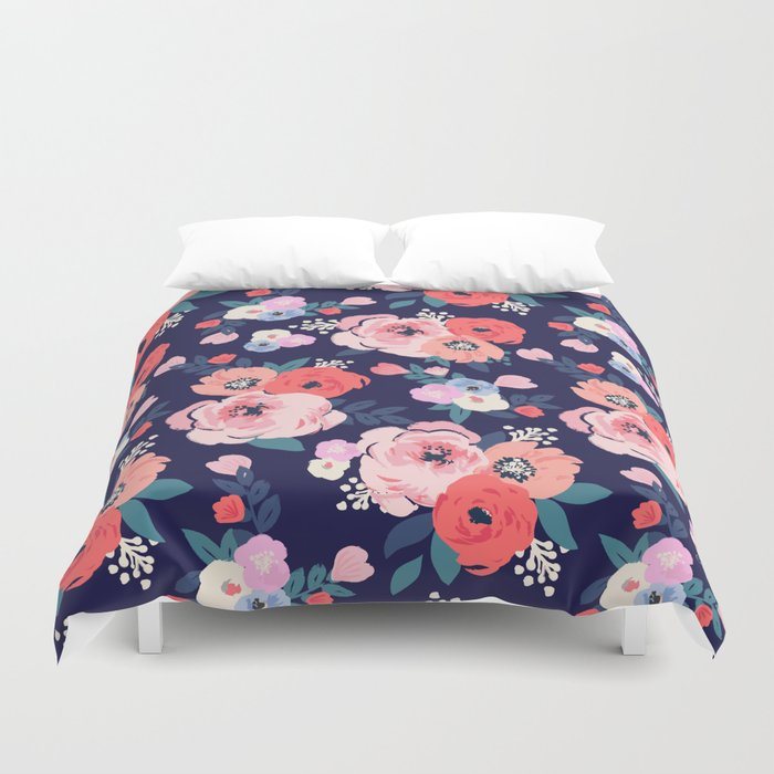 duvet complete bedding set grey store inky wholesale floral cover