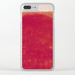 Submerged Sun Clear iPhone Case