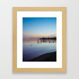 Peaceful Sunset Framed Art Print