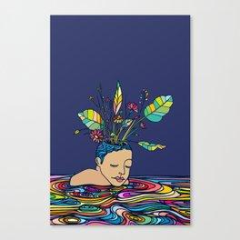 Spring Head Canvas Print