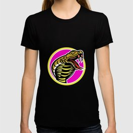 King Cobra Snake Mascot T-shirt