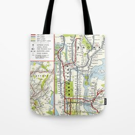 Metro NY Tote Bag