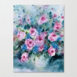 Roseflowers Canvas Print