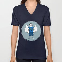 Guardian Angel Stevie Unisex V-Neck