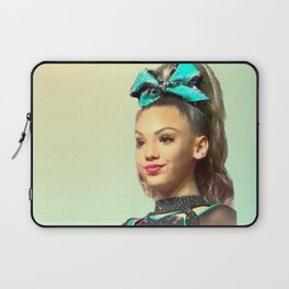 Smug Cheerleader Laptop Sleeve