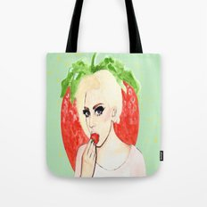 Strawberry Queen Tote Bag