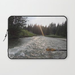 Rafting Down the Snake River Laptop Sleeve