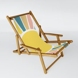 Retro Sunshine Sling Chair