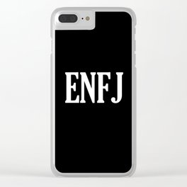 ENFJ Personality Type Clear iPhone Case