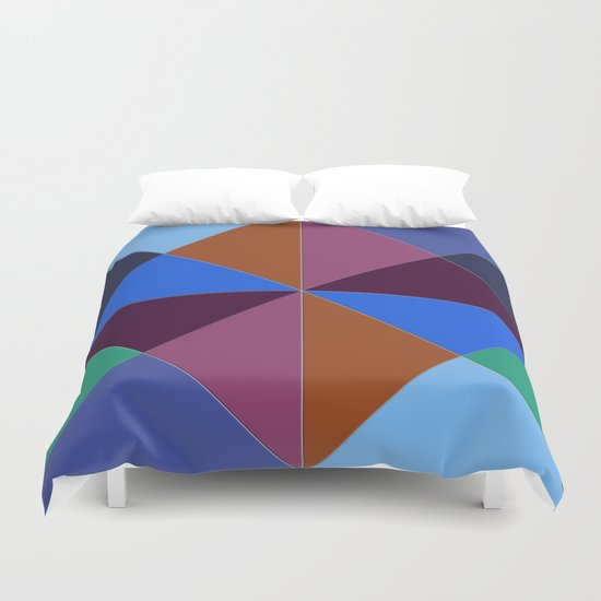Abstract #312 Duvet Cover