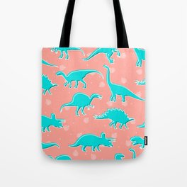 Dino Alley Tote Bag