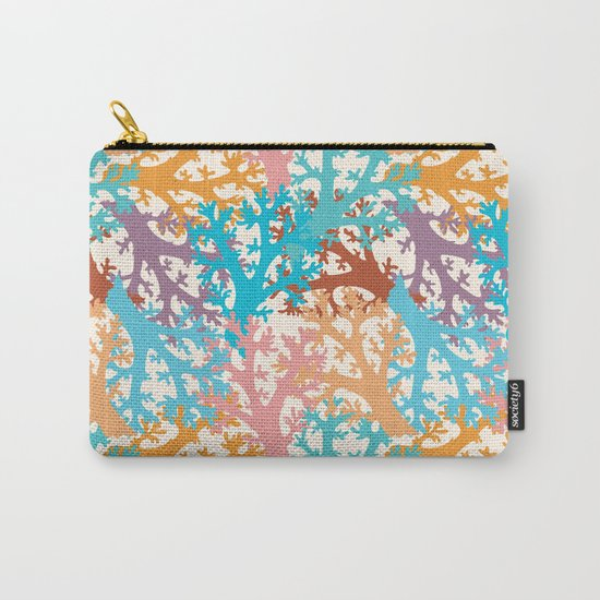 Pastel Marine Pattern 05 Carry-All Pouch