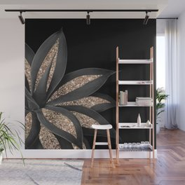 Agave Finesse Glitter Glam #8 #tropical #decor #art #society6 Wall Mural