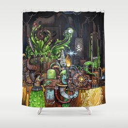 Contraption of Waste Shower Curtain