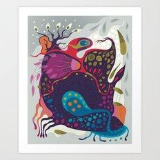 Spring Creeper Art Print