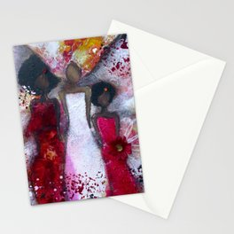 Fierce Fire Femme Stationery Cards