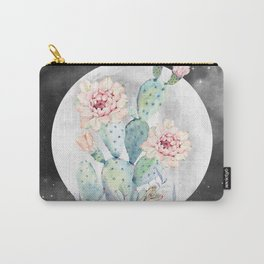 Cactus Nights Prettiest Cactus Full Moon Sky by Nature Magick Carry-All Pouch