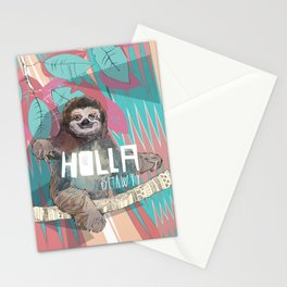 Holla | Sloth Stationery Cards