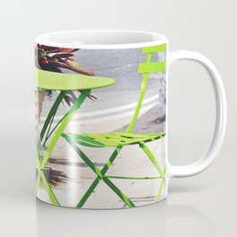 Lime Green Situation in NYC Mug