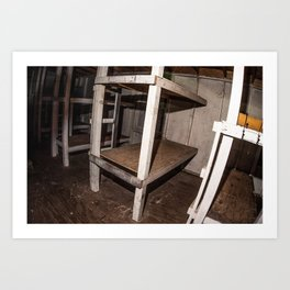 Bunk Beds  Art Print