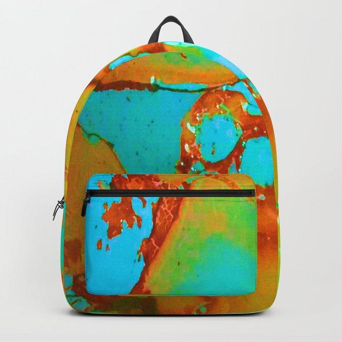 Orange to Blue Medley Backpack