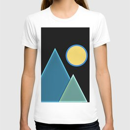 Sun, wind and mountains  T-shirt
