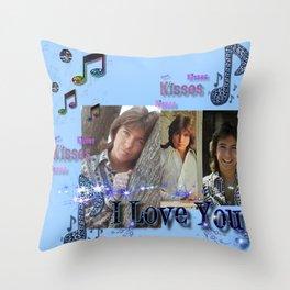 David Cassidy - Musical Sass Throw Pillow