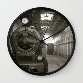 Out of Commission Wall Clock