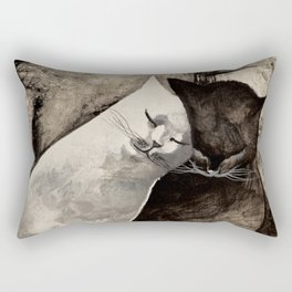 MORNING KISS by Raphaël Vavasseur Rectangular Pillow