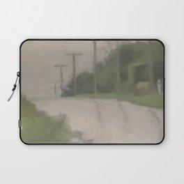 Beach Road after Rain - Clarice Beckett - Australian abstract Realism Laptop Sleeve