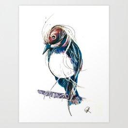 Wagtails Art Print