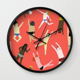 Dance! Dance! Dance! Wall Clock