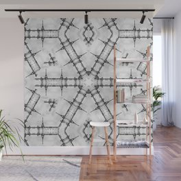 La Tour Eiffel Kaleidoscope Photographic Pattern Wall Mural