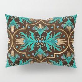 Turkish tulip - Ottoman tile 16 Pillow Sham