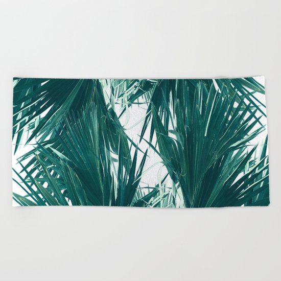 Palm Twist Beach Towel