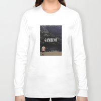 childish gambino Long Sleeve T-shirts featuring Childish Gambino by blakethewizz