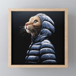COOL CAT Framed Mini Art Print